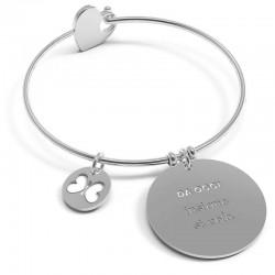 Acquistare Bracciale Donna 10 Buoni Propositi Bangle Heart Insieme Si Vola B5141