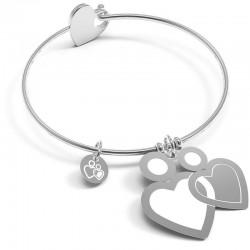 Acquistare Bracciale Donna 10 Buoni Propositi Bangle Heart Icon Più Di Ieri Meno Di Domani B5157
