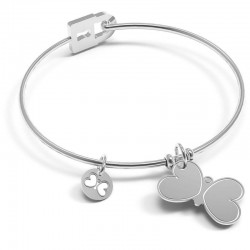 Bracciale Donna 10 Buoni Propositi Bangle Secret Icon Insieme Si Vola B5165