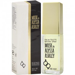 Profumo Donna Alyssa Ashley Musk Eau de Toilette EDT Vapo 100 ml
