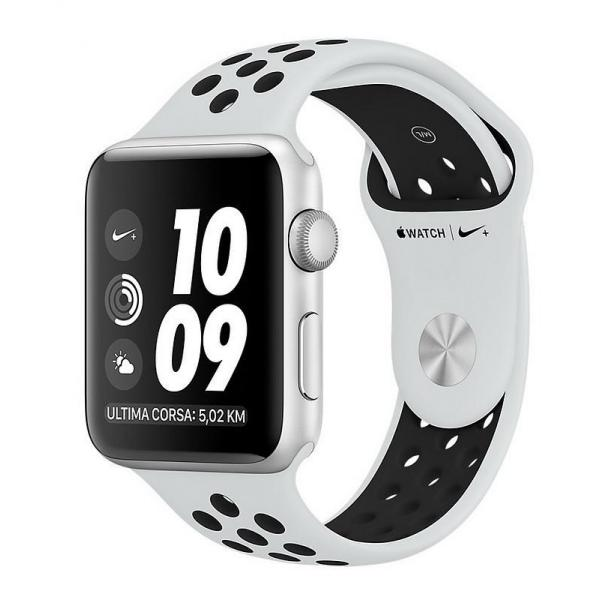 Acquistare Apple Watch Nike+ Series 3 GPS 42MM Silver cod. MQL32QL/A