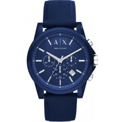 Orologio Uomo Armani Exchange Outerbanks AX1327 Cronografo