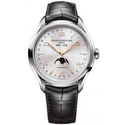 Orologio Uomo Baume & Mercier Clifton 10055 Moonphase Automatic