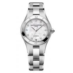 Acquistare Orologio Donna Baume & Mercier Linea 10074 Diamanti Madreperla Automatico