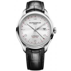 Orologio Uomo Baume & Mercier Clifton 10112 Dual Time Automatic