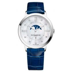 Acquistare Orologio Donna Baume & Mercier Classima 10226 Moonphase Diamanti Madreperla