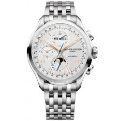 Orologio Uomo Baume & Mercier Clifton Chronograph Moonphase Automatic 10279