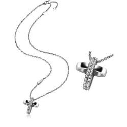 Acquistare Collana Donna Breil Charming Cross TJ1460 Croce