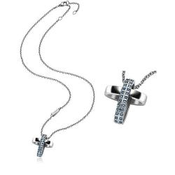 Acquistare Collana Donna Breil Charming Cross TJ1462 Croce