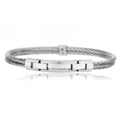 Bracciale Uomo Breil Cable TJ1827