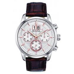Acquistare Orologio Uomo Bulova Sutton Classic 96B309 Cronografo Quartz
