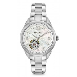 Acquistare Orologio Donna Bulova Classic 96P181 Diamanti Madreperla
