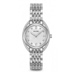 Acquistare Orologio Donna Bulova Curv Diamonds 96R212 Diamanti Quartz