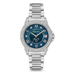 Orologio Donna Bulova Marine Star 96R215 Diamanti Madreperla Quartz