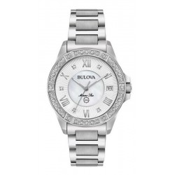 Acquistare Orologio Donna Bulova Marine Star 96R232 Diamanti Madreperla Quartz