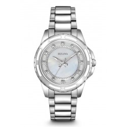 Acquistare Orologio Donna Bulova Diamonds 96S144 Diamanti Madreperla Quartz