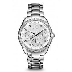 Acquistare Orologio Donna Bulova Diamonds 96S152 Diamanti Quartz