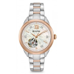 Acquistare Orologio Donna Bulova Classic 98P170 Diamanti Madreperla Quartz