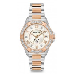 Acquistare Orologio Donna Bulova Marine Star 98R234 Diamanti Madreperla Quartz