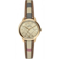 Acquistare Orologio Burberry Donna The Classic Round BU10114