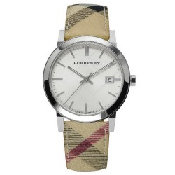 Orologio Burberry Unisex The City Nova Check BU9025