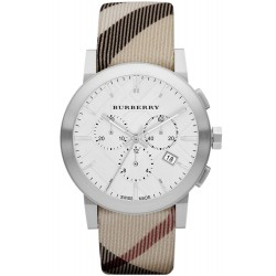 Acquistare Orologio Burberry Uomo The City Nova Check BU9357 Cronografo