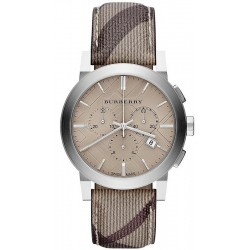 Acquistare Orologio Burberry Uomo The City Nova Check BU9361 Cronografo