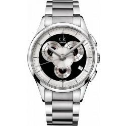 Acquistare Orologio Calvin Klein Uomo Basic K2A27104 Cronografo