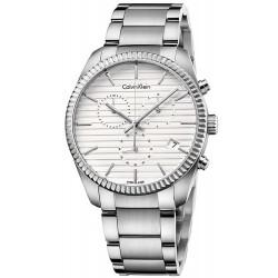 Acquistare Orologio Calvin Klein Uomo Alliance K5R37146 Cronografo
