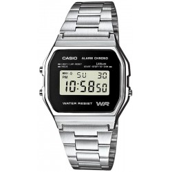Orologio Unisex Casio Collection A158WEA-1EF Multifunzione Digitale