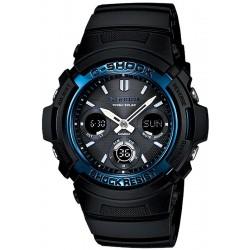 Acquistare Orologio Uomo Casio G-Shock AWG-M100A-1AER Multifunzione Ana-Digi Solar