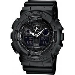 Acquistare Orologio Uomo Casio G-Shock GA-100-1A1ER Multifunzione Ana-Digi