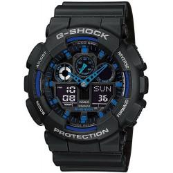 Acquistare Orologio Uomo Casio G-Shock GA-100-1A2ER Multifunzione Ana-Digi