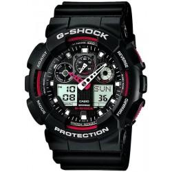 Orologio Uomo Casio G-Shock GA-100-1A4ER Multifunzione Ana-Digi