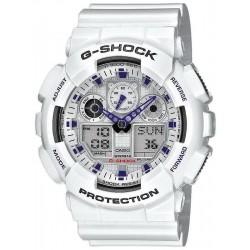 Acquistare Orologio Uomo Casio G-Shock GA-100A-7AER Multifunzione Ana-Digi