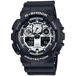 Acquistare Orologio Uomo Casio G-Shock GA-100BW-1AER Multifunzione Ana-Digi