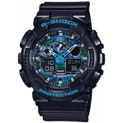 Acquistare Orologio Uomo Casio G-Shock GA-100CB-1AER Multifunzione Ana-Digi