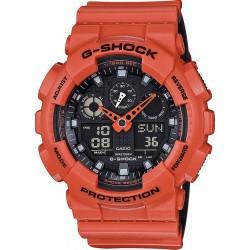Acquistare Orologio Uomo Casio G-Shock GA-100L-4AER Multifunzione Ana-Digi