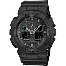 Acquistare Orologio Uomo Casio G-Shock GA-100MB-1AER Multifunzione Ana-Digi