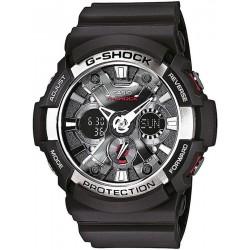 Orologio Uomo Casio G-Shock GA-200-1AER Multifunzione Ana-Digi