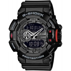 Orologio Uomo Casio G-Shock GA-400-1BER Multifunzione Ana-Digi
