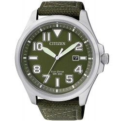 Orologio Uomo Citizen Military Eco-Drive AW1410-32X