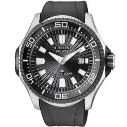 Orologio Uomo Citizen Promaster Diver's Eco-Drive 300M BN0085-01E