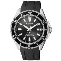 Orologio Uomo Citizen Promaster Diver's Eco-Drive 200M BN0190-15E
