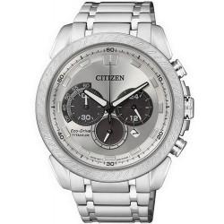 Orologio Uomo Citizen Super Titanium Crono Eco-Drive CA4060-50A