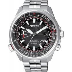 Orologio Uomo Citizen Radiocontrollato Pilot Titanio Evolution 5 CB0140-58E