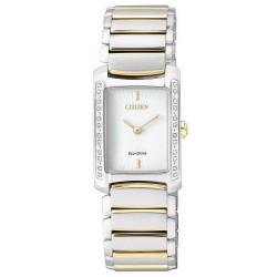 Orologio Citizen Donna Lady Eco-Drive EG2965-53A Diamanti