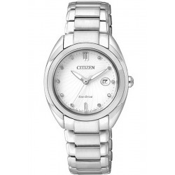 Orologio Citizen Donna Lady Eco-Drive EM0310-61B Diamanti