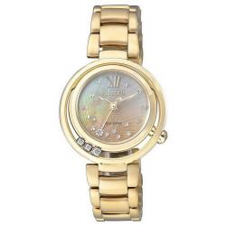 Acquistare Orologio Citizen Donna Lady Eco-Drive EM0325-55P Diamanti Madreperla