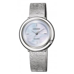 Orologio Citizen Donna Ambiluna Eco-Drive EM0640-82D Diamante Madreperla